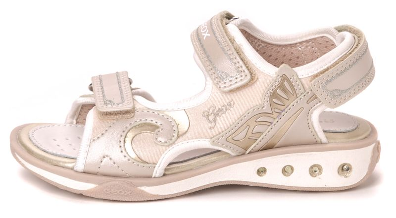 Geox dívčí sandály Jocker 28 béžová