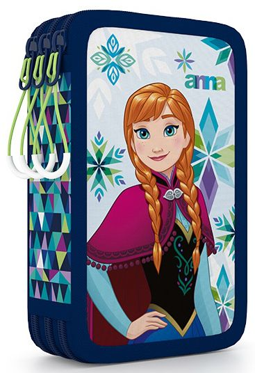 Karton P+P Penál 3 patrový Frozen