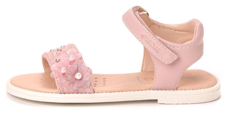 Geox dívčí sandály Karly 28 růžová