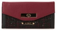 LYDC dámská vínová peněženka