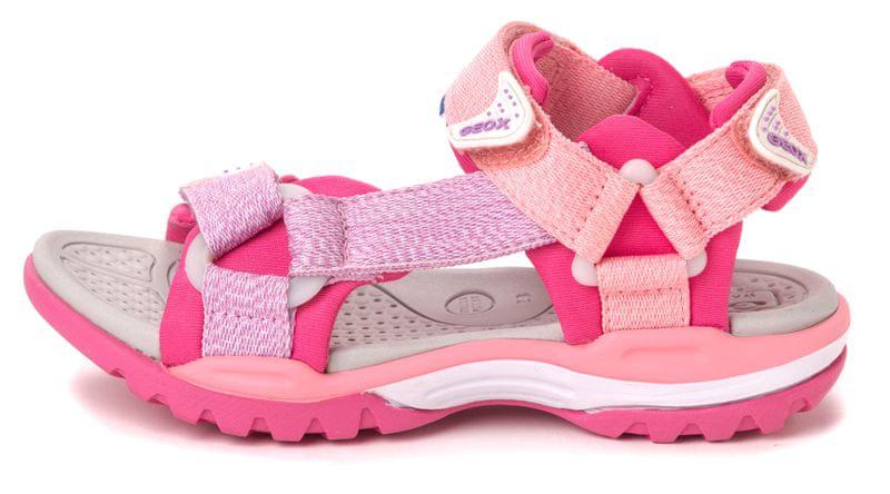 Geox dívčí sandály Borealis 28 růžová