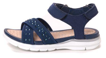 Geox dekliški sandali Sukie 34 modra