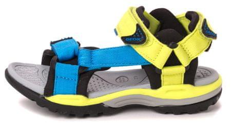 Geox fantovski sandali Borealis 37 večbarvna
