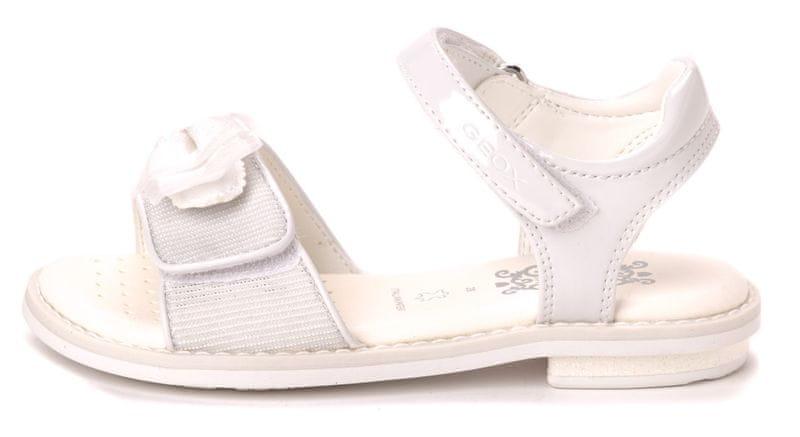 Geox dívčí sandály Giglio 28 bílá