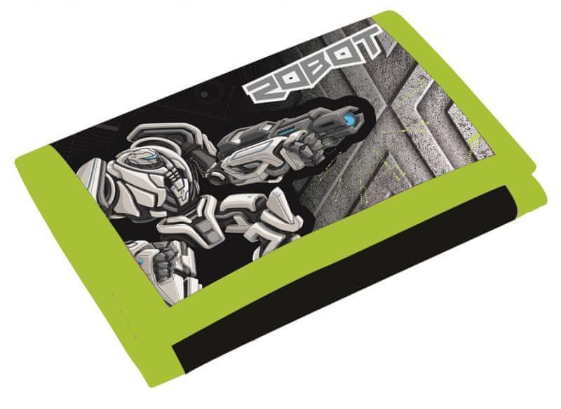 Karton P+P Dětská peněženka Premium Robot