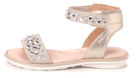 Geox dekliški sandali Milk 34 zlata