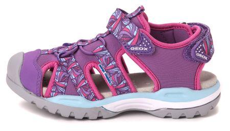Geox dekliški sandali Borealis 34 vijolična
