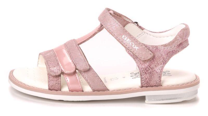 Geox dívčí sandály Giglio 28 růžová