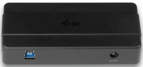 I-TEC Rozbočovač (4x USB 3.0) + napájecí adaptér, černá