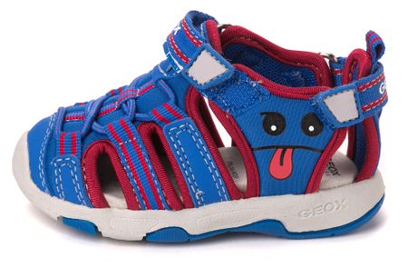 Geox fantovski sandali Multy 20 modra