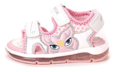 Geox dekliški sandali Todo 24 bela