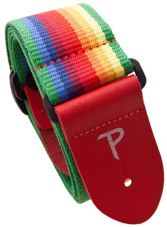 Perris Leathers 6846 Cotton Rainbow Gitarový popruh