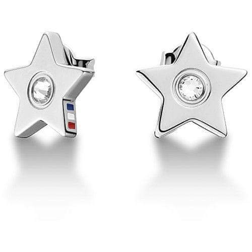 Tommy Hilfiger Ocelové náušnice Hvězdičky s krystalem TH2700842