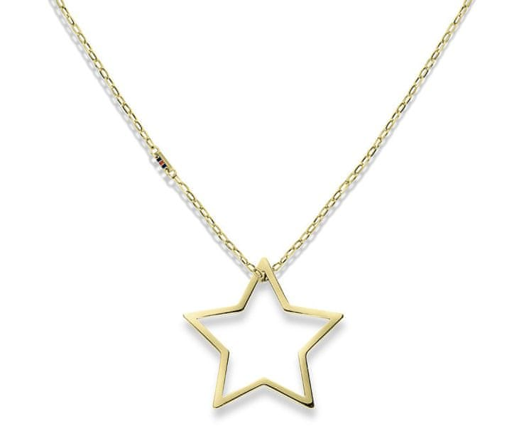 Tommy Hilfiger Zlatý náhrdelník s hvězdou TH2700851
