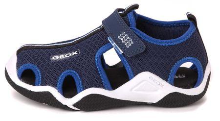 Geox chlapecké sandály Wader 39 modrá