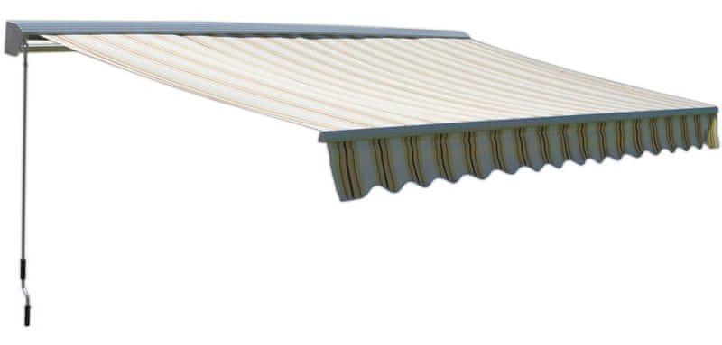 Rojaplast Markýza 4x2,5m s krytem vzor 318