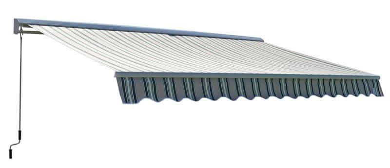 Rojaplast Markýza 4x2,5m s krytem vzor C004