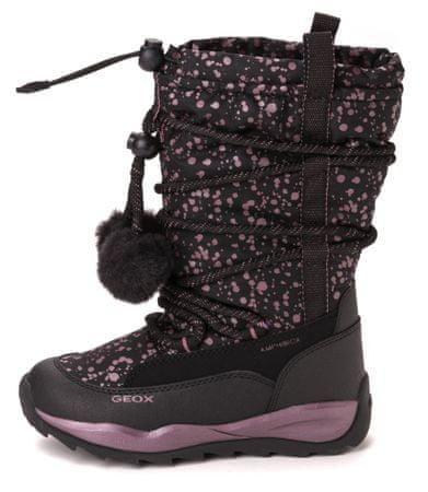 Geox dekliški čevlji za sneg 28 črna