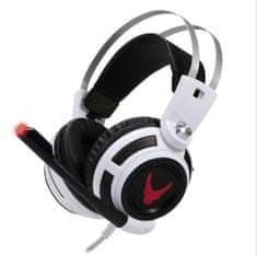 Omega gaming slušalke z mikrofonom VARR OVH4055W