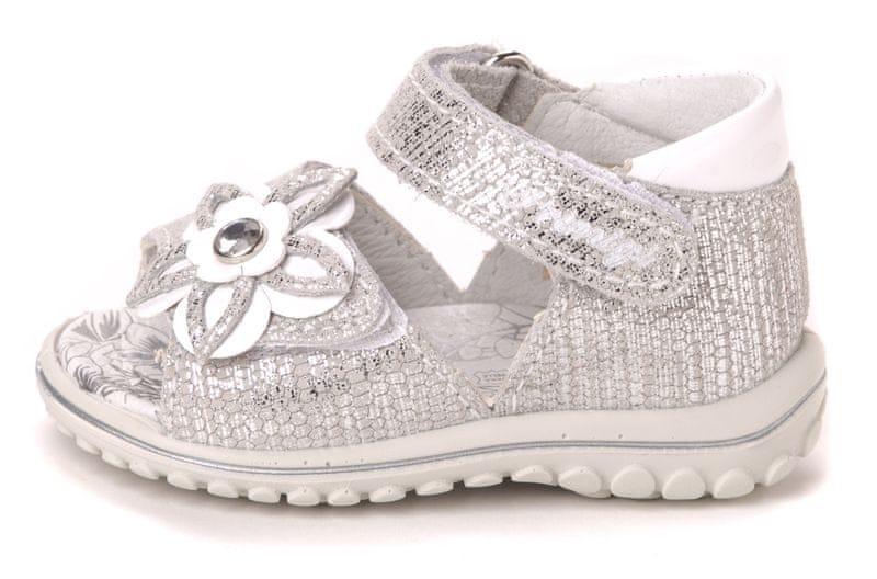 Primigi dívčí sandály 22 stříbrná