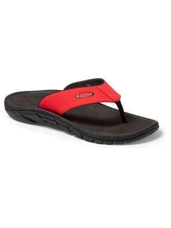 Oakley natkači Super Coil Sandal 2.0, rdeči/črni, 42.5