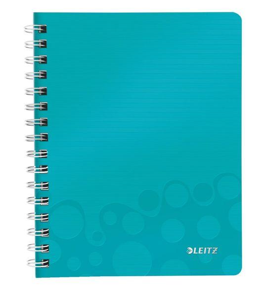 Blok na psaní Leitz WOW A5 čtverečkovaný ledově modrý