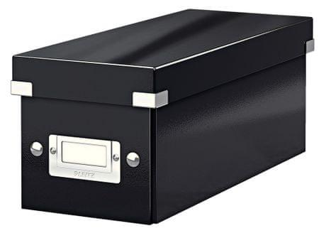 Krabice CLICK-N-STORE na CD, černá