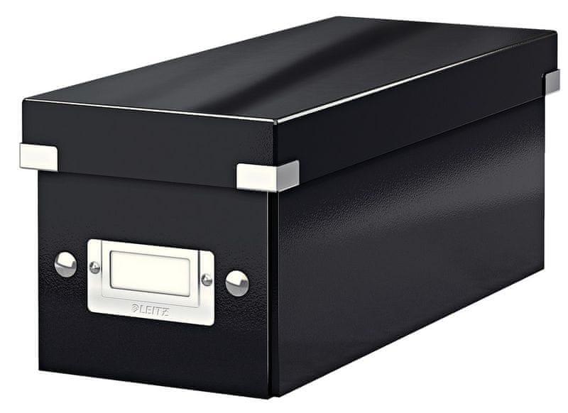 Krabice CLICK & STORE na CD, černá