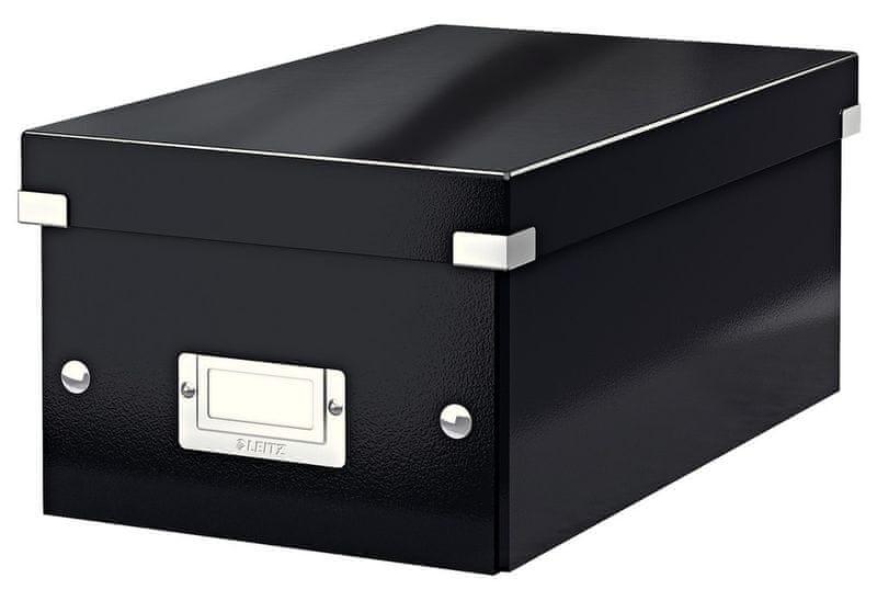 Krabice CLICK & STORE na DVD, černá