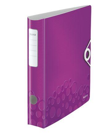 Leitz Mobilní pořadač 180° ACTIVE WOW A4 6,5 cm purpurový