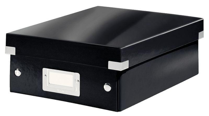 Krabice CLICK & STORE WOW malá organizační, černá