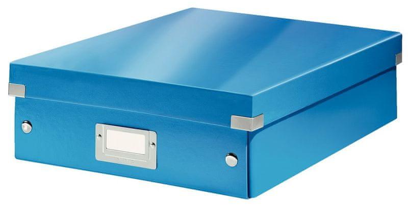 Krabice CLICK & STORE WOW střední organizační, modrá