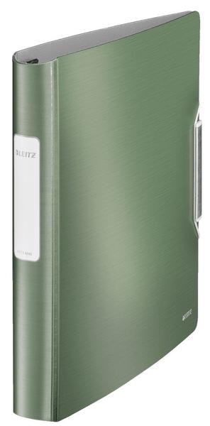 Mobilní kroužkový pořadač 4xD kroužky Leitz ACTIVE Style 5,2 cm zelenkavý