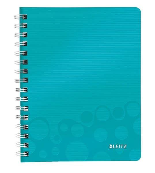 Blok na psaní Leitz WOW A5 linkovaný ledově modrý