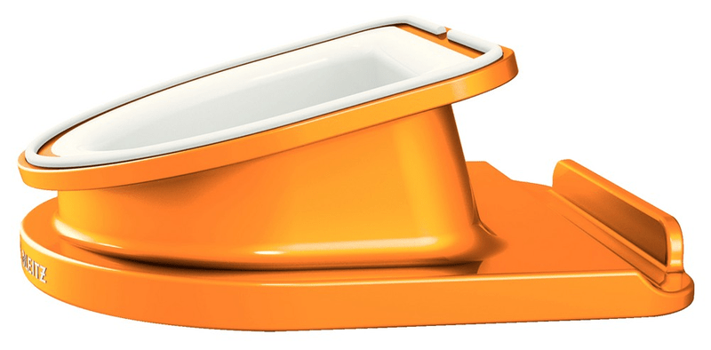 Otočný stojánek Leitz Complete WOW pro iPad/tablet PC metalický oranžový
