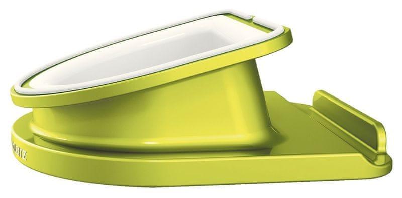 Leitz Otočný stojánek Complete WOW pro iPad/tablet PC metalický zelený