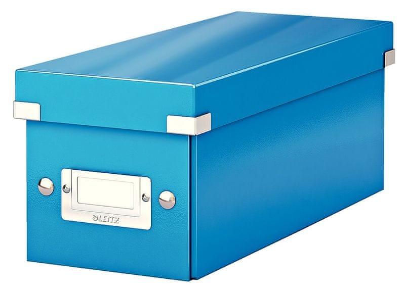Krabice CLICK & STORE WOW na CD, modrá