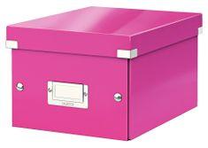 Krabice CLICK & STORE WOW malá archivační, růžová
