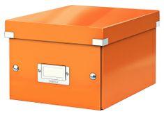 Krabice CLICK & STORE WOW malá archivační, oranžová