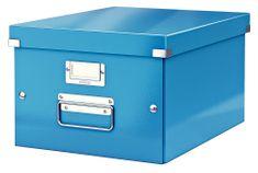 Krabice CLICK & STORE WOW střední archivační, modrá