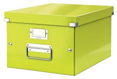 Krabice CLICK & STORE WOW střední archivační, zelená