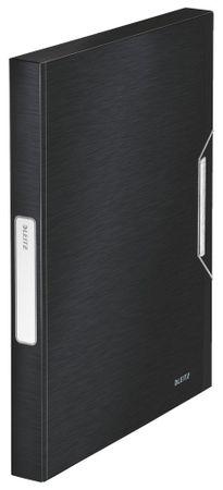 Box na spisy Leitz Style saténově černý