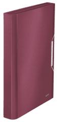 Leitz Aktovka s přihrádkami Style granátově červená