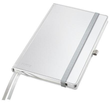 Zápisník Leitz Style 145x18x211 čtverečkovaný arkticky bílý