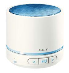 Leitz Přenosný mini Bluetooth reproduktor s mikrofonem WOW modrý/bílý
