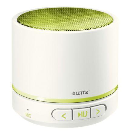 Přenosný mini Bluetooth reproduktor s mikrofonem Leitz WOW zelený/bílý