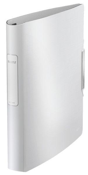 Mobilní kroužkový pořadač 4xD kroužky Leitz ACTIVE Style 5,2 cm arkticky bílý