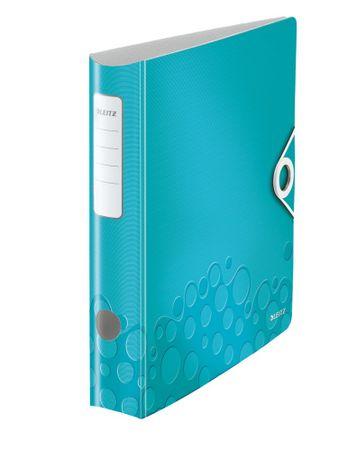 Mobilní pořadač Leitz 180° ACTIVE WOW A4 6,5 cm ledově modrý