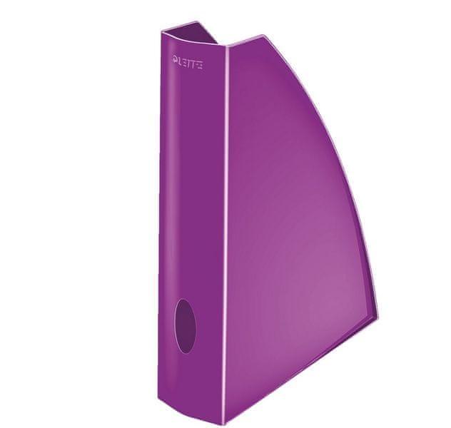 Stojan na časopisy Leitz WOW purpurový