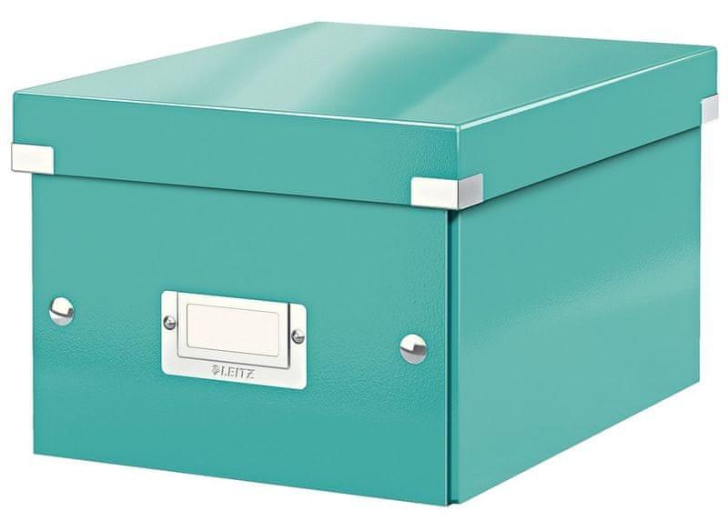 Krabice CLICK & STORE WOW malá archivační, led. modrá